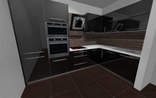 kuchynská-linka-čierna-lesklá-a-zebrano