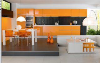 kuchynska-linka-farba-oranzova-leskla
