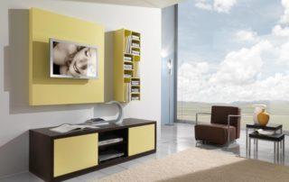 obyvackova-stena-farba-hnedo-zlta